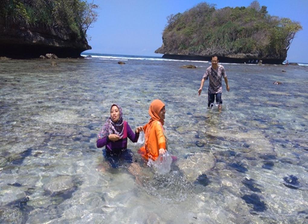 Menikmati Indahnya Teluk Asmoro